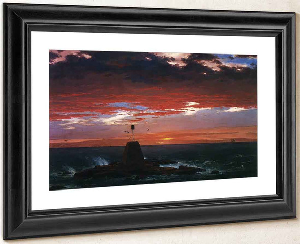 Beacon, Off Mount Desert Island By Frederic Edwin Church By Frederic Edwin Church
