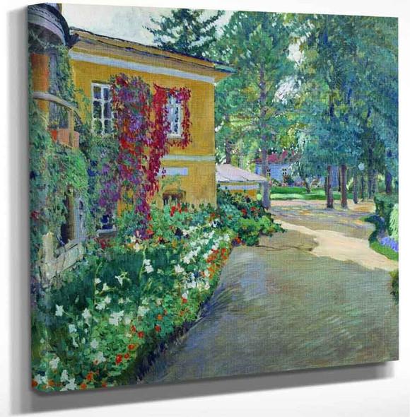 The Garden By Sergei Arsenevich Vinogradov Russian 1869 1938 Art Reproduction