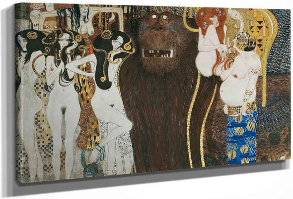 Beethoven Frieze By Gustav Klimt