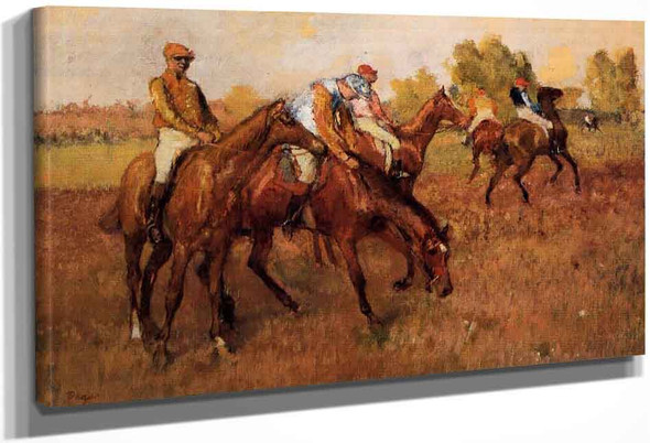 Before The Race2 By Edgar Degas