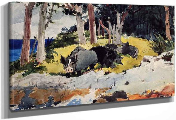 Bermuda Settlers By Winslow Homer