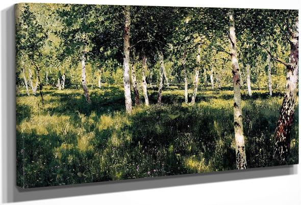 Birch Grove By Isaac Levitan