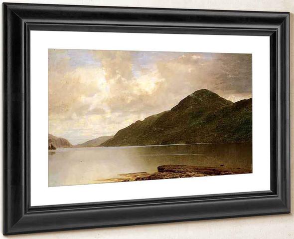 Black Mountain, Lake George By John Frederick Kensett By John Frederick Kensett