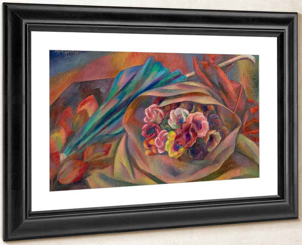 Bouquet And Sunshade By Mark Gertler