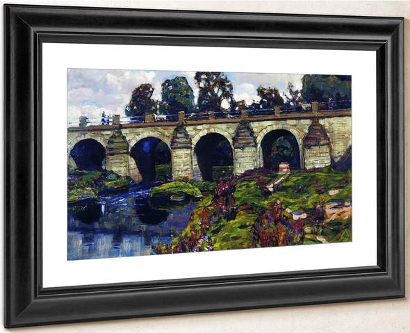 Bridge Across The Yauza River By Apollinari Vasnetsov