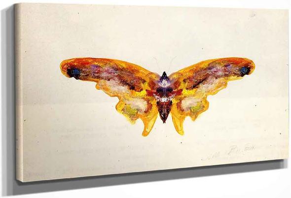 Butterfly 2 By Albert Bierstadt