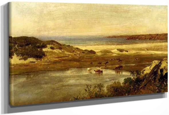 By The Sea, Newport, Rhode Island By Thomas Worthington Whittredge