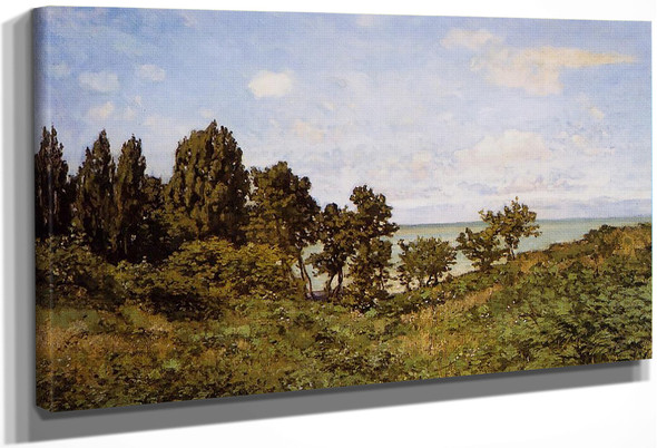 By The Sea By Claude Oscar Monet