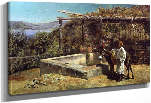 By The Well By Edwin Lord Weeks