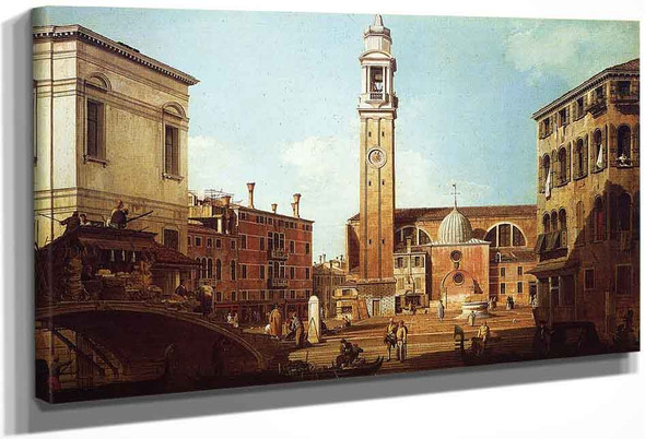 Camo Santi Apostoli By Canaletto By Canaletto