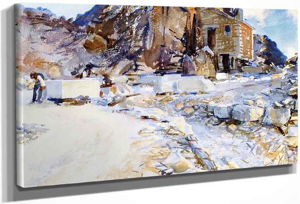 Carrara Little Quarry By John Singer Sargent By John Singer Sargent