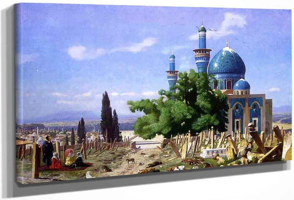 Cemetery Gone To Seed By Jean Leon Gerome