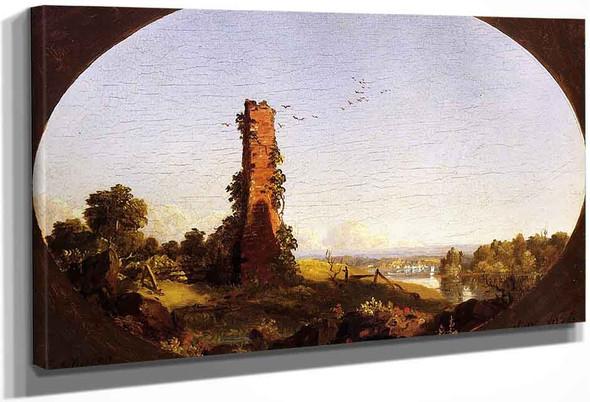Chimney By Frederic Edwin Church By Frederic Edwin Church