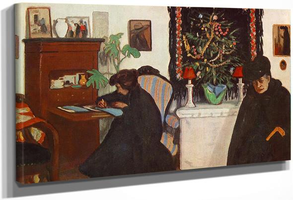 Christmas By Jozsef Rippl Ronai By Jozsef Rippl Ronai