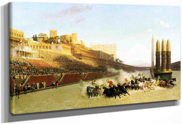 Circus Maximus By Jean Leon Gerome