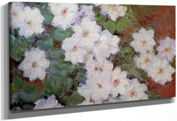 Clematis By Claude Oscar Monet