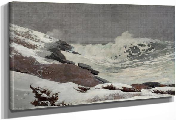 Coast In Winter By Winslow Homer