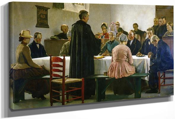 Communion By Gari Melchers