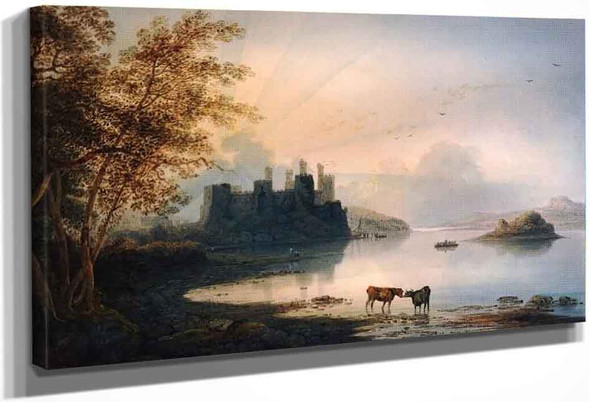 Conway Castle By Francis Danby