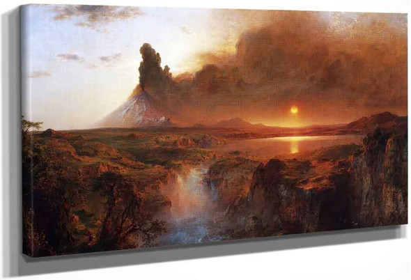 Cotopaxi4 By Frederic Edwin Church By Frederic Edwin Church