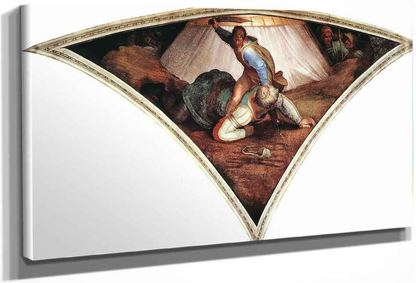 David And Goliath By Michelangelo Buonarroti By Michelangelo Buonarroti