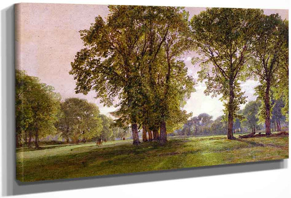 Daybreak By William Trost Richards By William Trost Richards