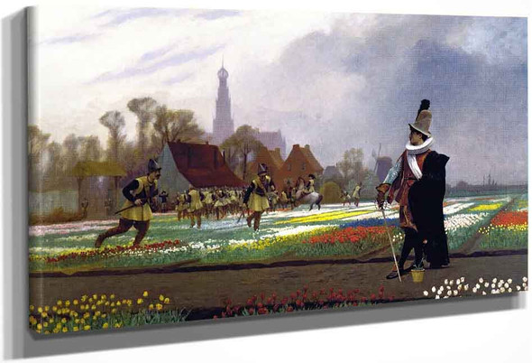 Duel Among The Tulips By Jean Leon Gerome
