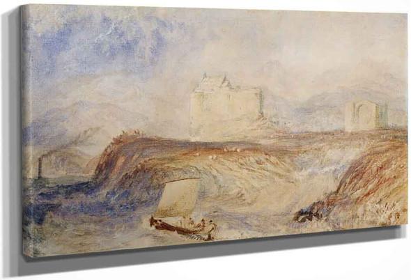 Dunstaffnage By Joseph Mallord William Turner