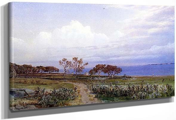 Easton's Point, Newport 1 By William Trost Richards By William Trost Richards