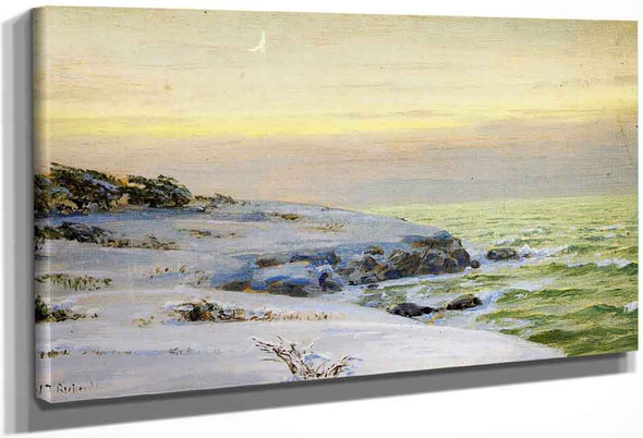 Easton's Point, Newport By William Trost Richards By William Trost Richards