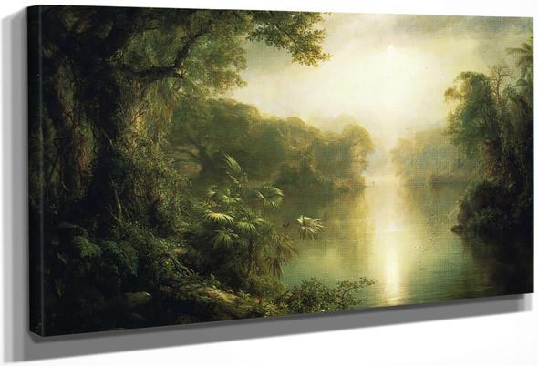 El Rio De Luz By Frederic Edwin Church By Frederic Edwin Church
