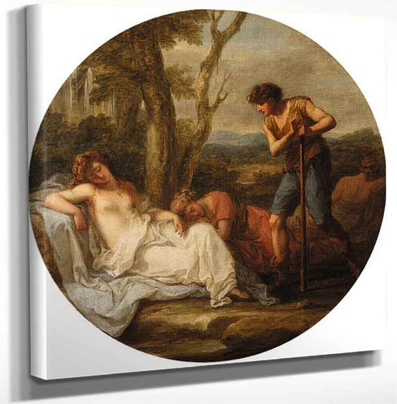 The Triumph Of Venus By Angelica Kauffmann Art Reproduction