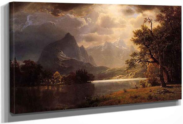 Estes Park, Colorado By Albert Bierstadt