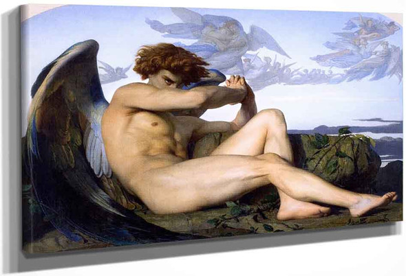 Fallen Angel By Alexandre Cabanel