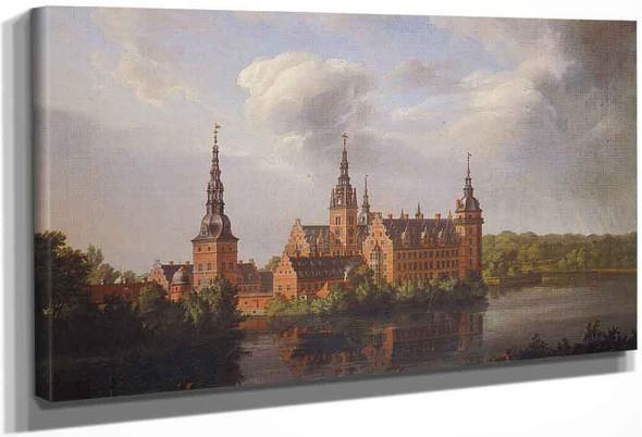 Fredericksborg Castle1 By Johan Christian Dahl By Johan Christian Dahl