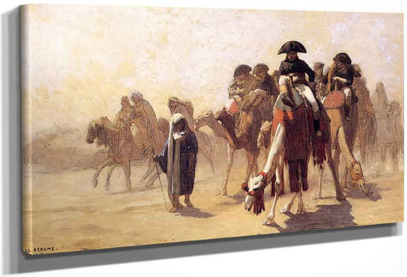General Bonaparte With His Military Staff In Egypt By Jean Leon Gerome