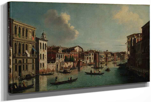 Grand Canal, Venice By Canaletto By Canaletto