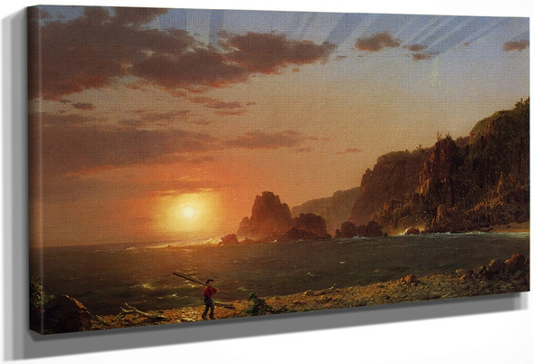 Grand Manan Island, Bay Of Fundy By Frederic Edwin Church By Frederic Edwin Church