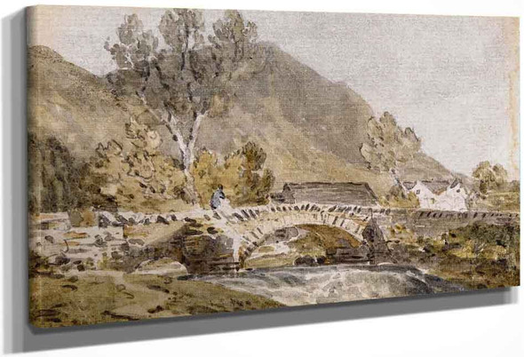 Grange Bridge, Borrowdale By Joseph Mallord William Turner