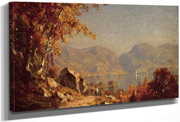 Highlands On The Hudson By Sanford Robinson Gifford
