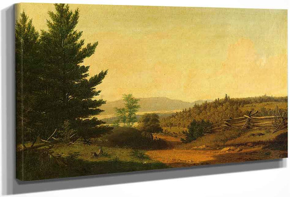 Hudson Valley Idyll By Sanford Robinson Gifford