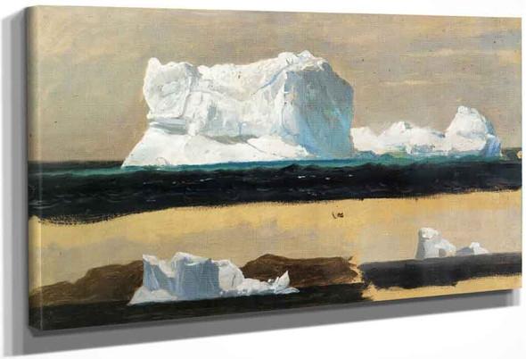 Icebergs, Twillingate, Newfoundland By Frederic Edwin Church By Frederic Edwin Church