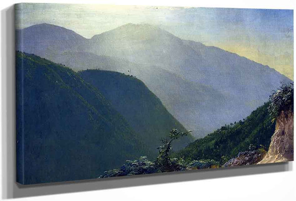In The Blue Mountains, Jamaica By Frederic Edwin Church By Frederic Edwin Church