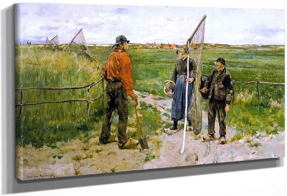 In West Flanders By Theo Van Rysselberghe