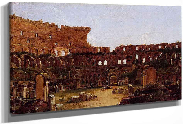 Interior Of The Colosseum Rome By Thomas Cole By Thomas Cole
