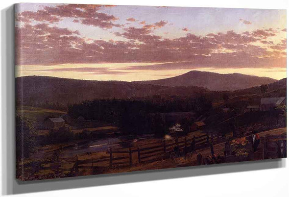 Ira Mountain, Vermont By Frederic Edwin Church By Frederic Edwin Church