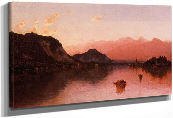 Isola Bella, Lago Maggiore, A Sketch By Sanford Robinson Gifford