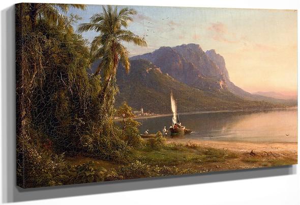 Jamaica By Frederic Edwin Church By Frederic Edwin Church