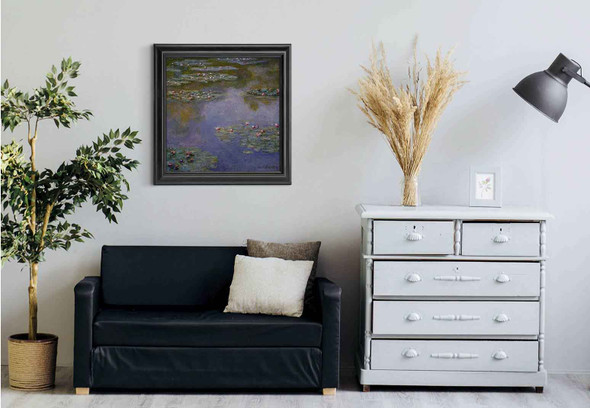 Water Lilies36 By Claude Oscar Monet Art Reproduction