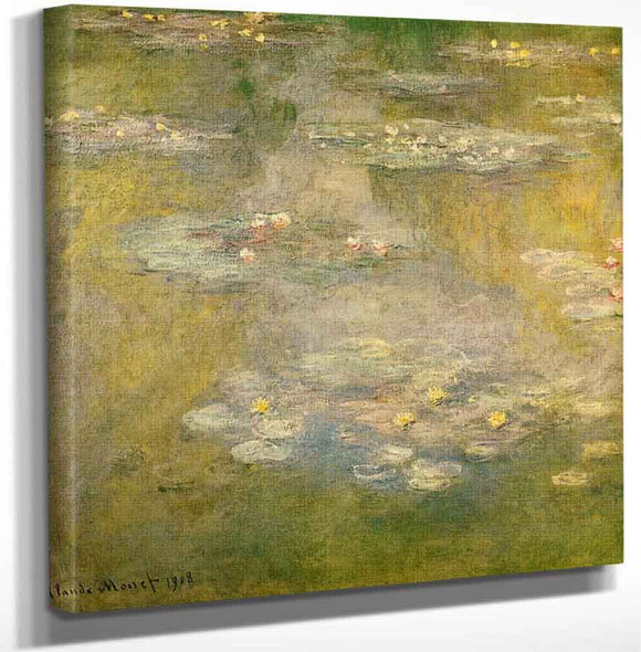 Water Lilies51 By Claude Oscar Monet Art Reproduction